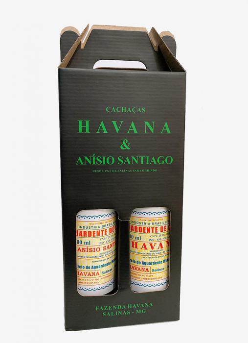 Kit Cachaças Havana e Anísio Santiago
