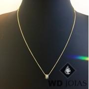 Corrente Ouro 18k Feminina Italiano 45 cm 1,5gr WD8893