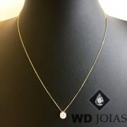 Corrente Ouro 18k Veneziana 45 cm 1,3gr WD8924