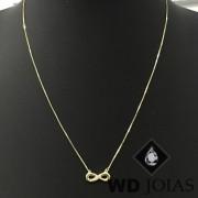 Corrente Ouro 18k Veneziana 45 cm 1,5gr WD8926
