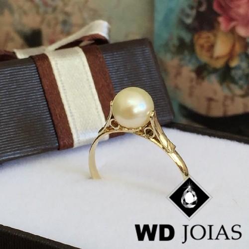 Anel de Ouro Infantil Polida 1,5g MJA23