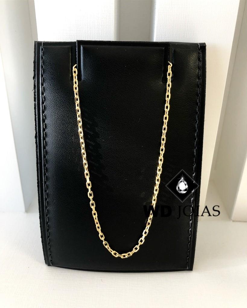 Corrente de Ouro Cartier Cadeado 60 cm 25gr WD8947