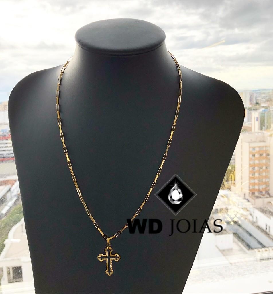 Corrente de Ouro Cartier com Pingente 60 cm 10gr WD8961
