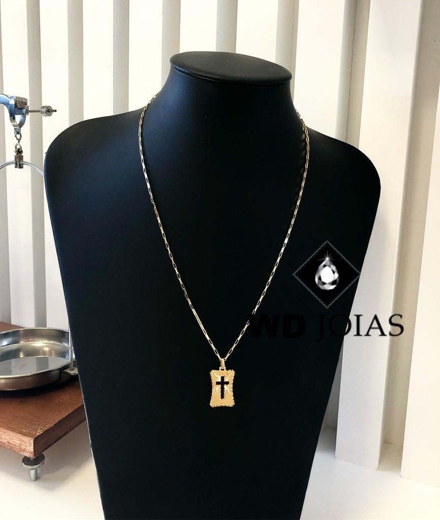 Corrente de Ouro Cartier com Pingente 60 cm 6gr WD8973