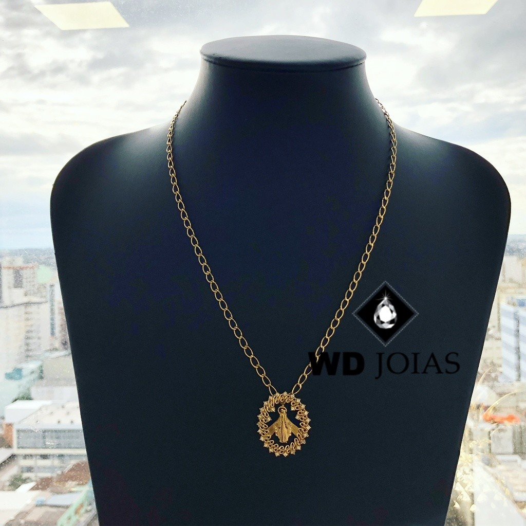 Corrente de Ouro Cartier Fios Longos 50 cm 16gr WD8962