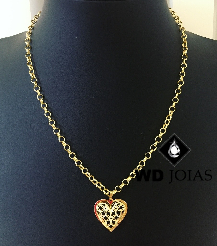 Corrente de Ouro Portuguesa 45 cm 18gr WD8968