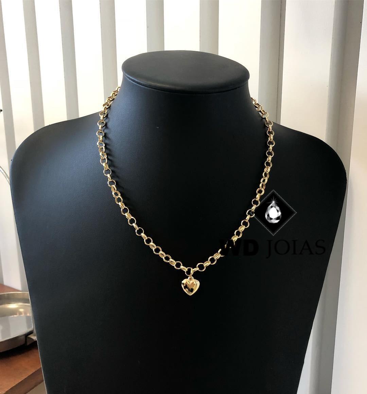 Corrente de Ouro Portuguesa 45 cm 20gr WD8974