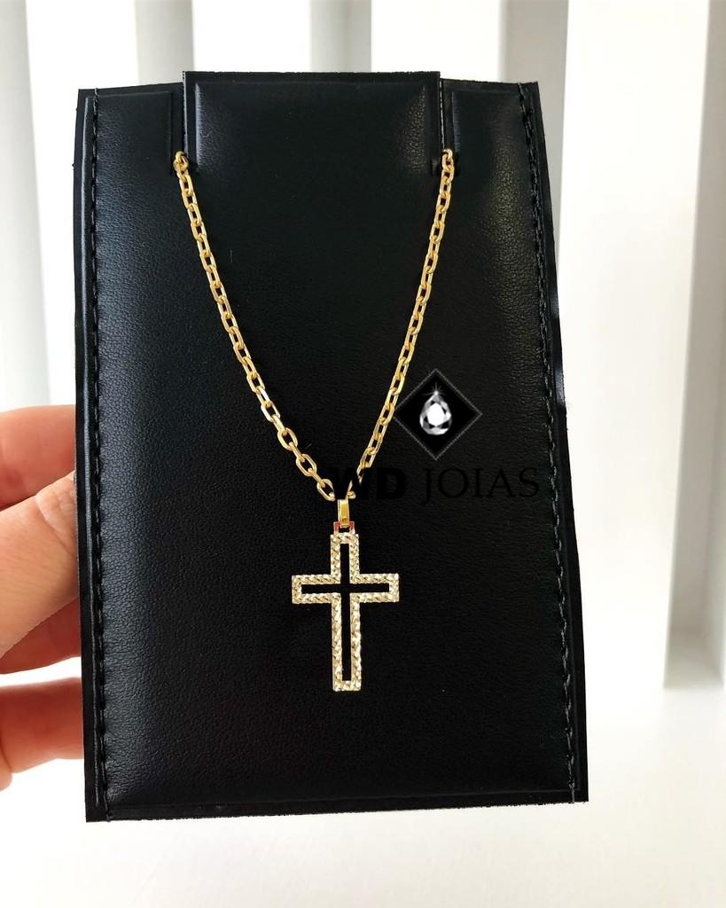 Corrente Ouro 18k Cartier com Pingente 60 cm 13gr WD8941