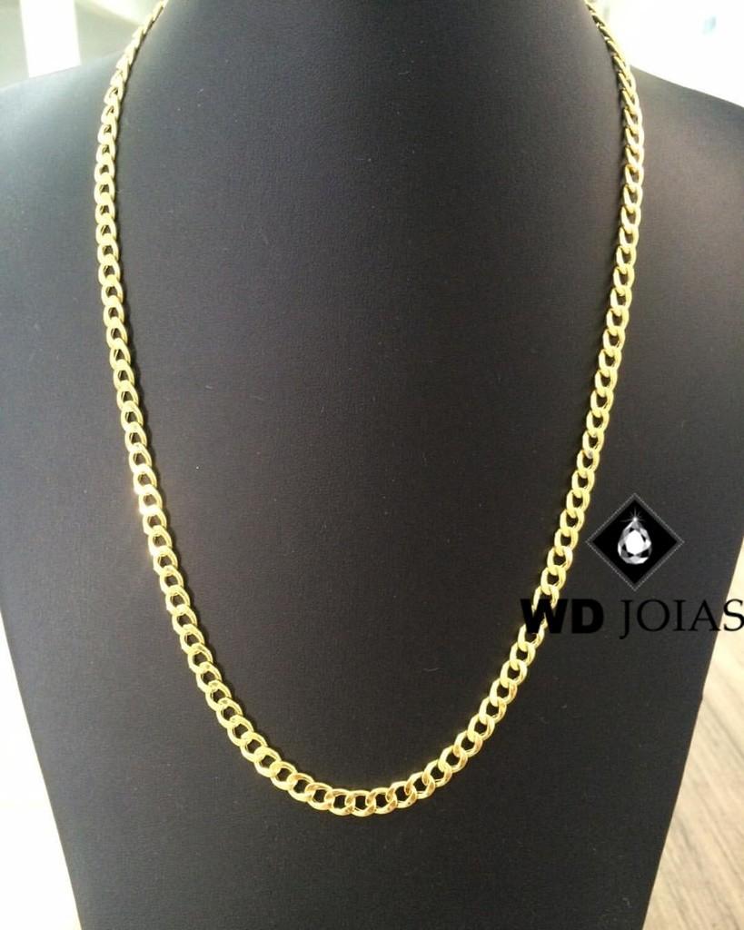 Corrente Ouro 18k Grumet 60 cm 26gr WD8906