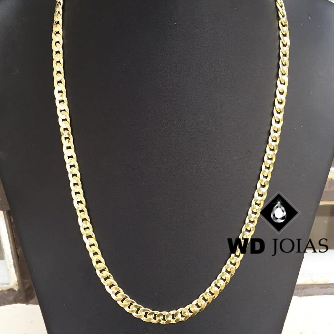Corrente Ouro 18k Groumet 60 cm 29gr WD8915