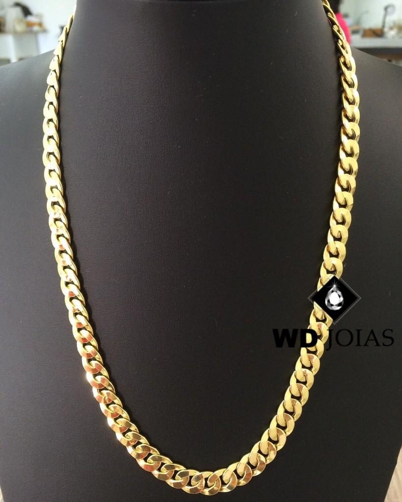 Corrente Ouro 18k Groumet 60 cm 42gr WD8907