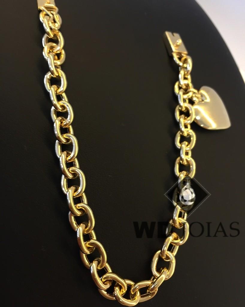 Pulseira de Ouro Cartier Feminino 18cm 35gr WD8984