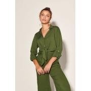 Camisa Giordana com Calça Stella Verde