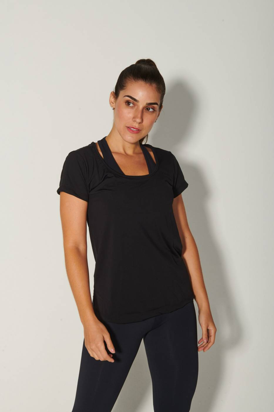 Blusa Recortada Fit Way