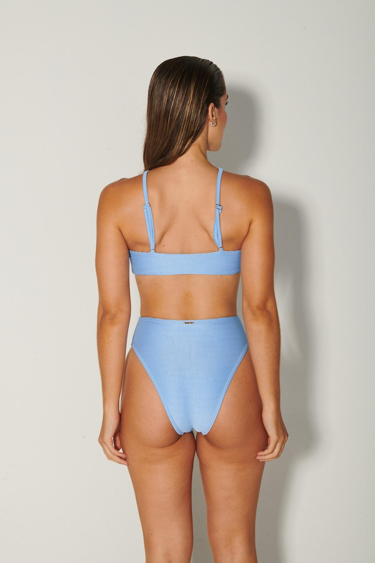 Body Mallorca Azul Canelado