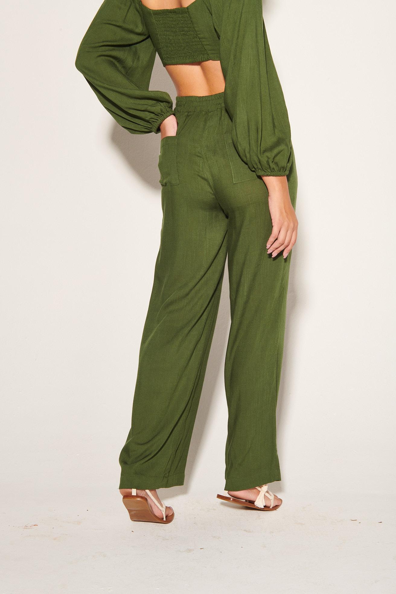 Calça Viscose Stella Verde
