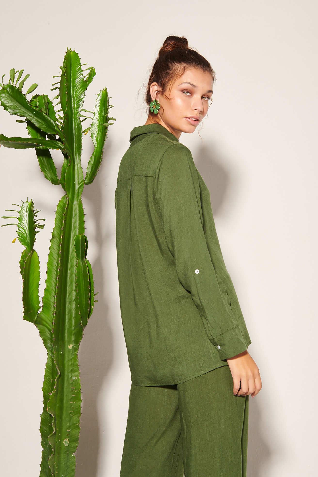 Camisa Giordana Verde