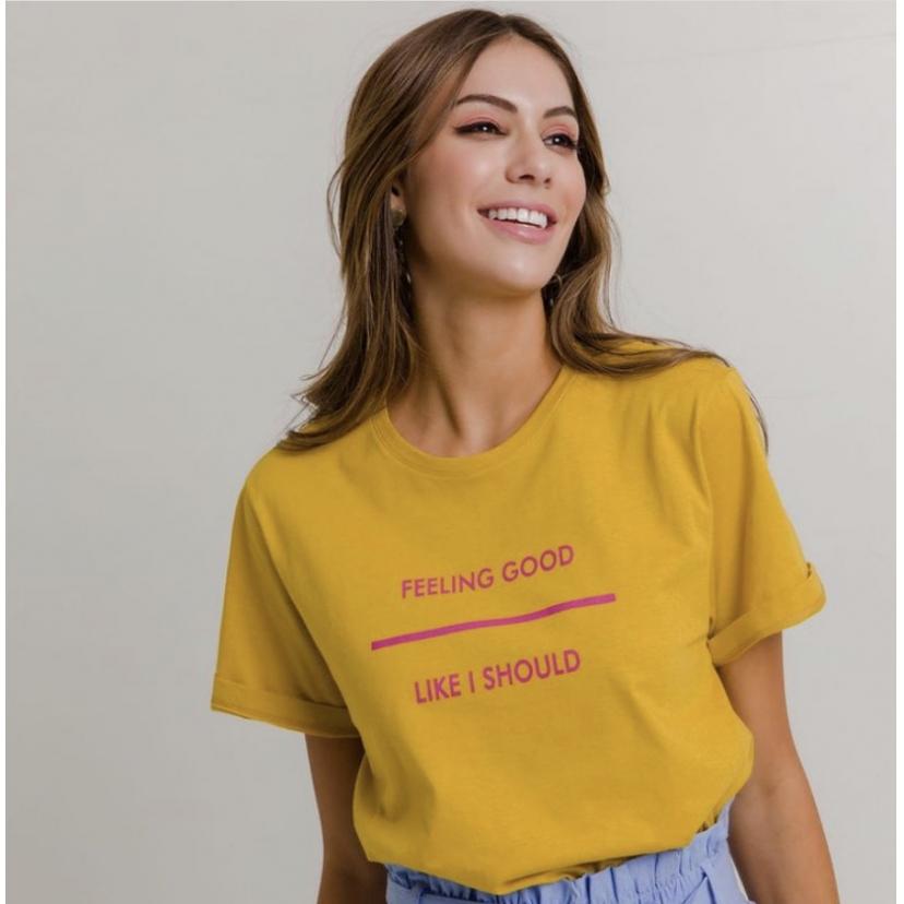 Camiseta Feeling Good
