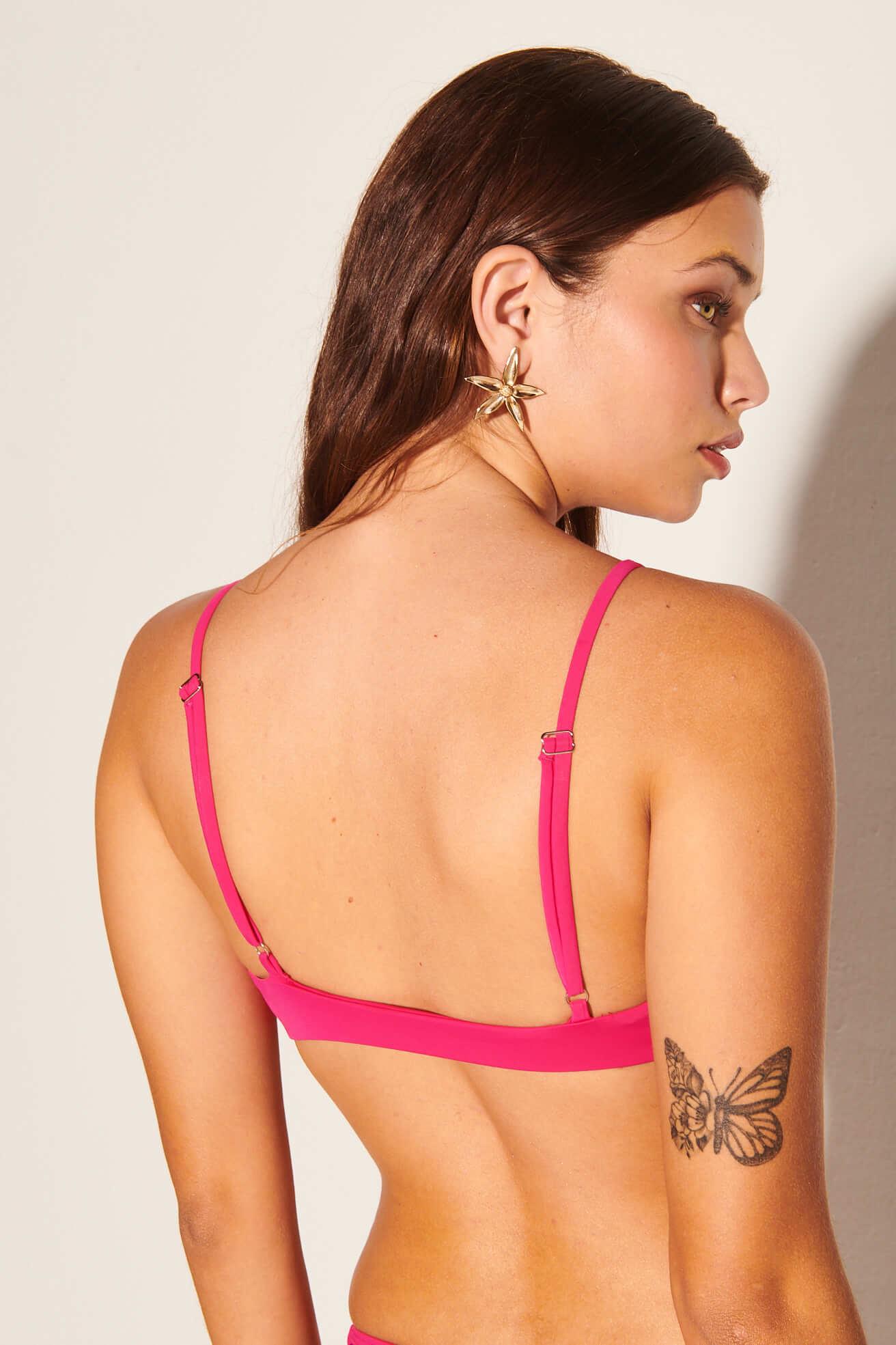 Top Camiseta Nó Pink