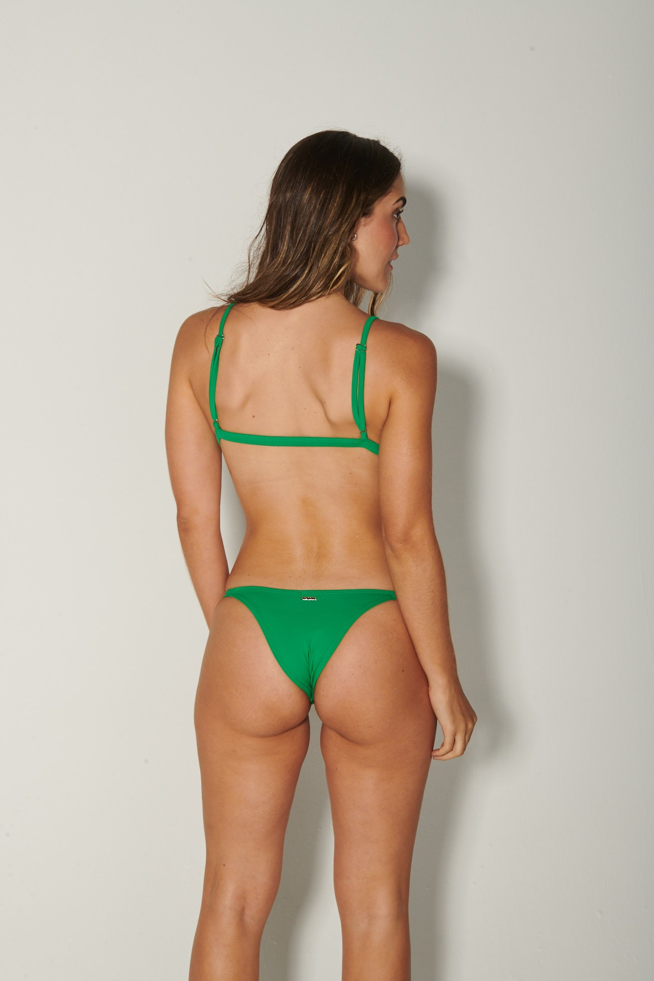 Top Camisetinha Verde Bandeira
