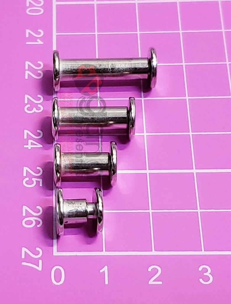 10 PINOS PARA ÁLBUNS DE SCRAPBOOK PINO15 - 1,5cm 400433
