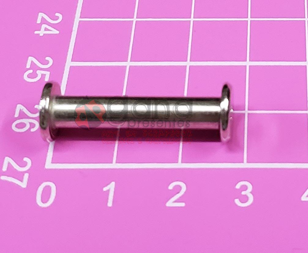 10 Pinos para álbuns de scrapbook Pino25 - 2,5cm Pino Álbum 400435