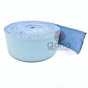 Alça de couro para cartonagem Azul Claro