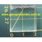 Base de Acrílico para carimbo 2cm x 2x2cm - 100899P