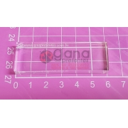 Base de Acrílico para carimbo 2cm X 6cm 3cm 4cm