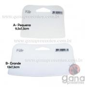 Espátula Auxiliar para Cartonagem TIGRE de Silicone - 1 Grande + Pequena