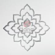 Faca de corte - Tag Flor 3 tamanhos 22835