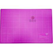 Kit de Base corte 45x30 + estilete profissional régua metal 30cm