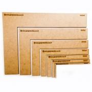 kit de Esquadros MDF para Cartonagem e Encadernação Gana Presentes