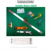 Kit iniciante para cartonagem Modelo Básico 60x45