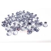 Metais - 100 Ilhós de Alumínio nº54 Polido ALTO para scrap e cartonagem