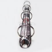 Metais - Garra para fichário circular 4 argolas 30mm com 100 unidades