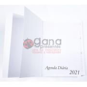 Miolo/Refil de Agenda 2021 Miolo - Refil 14x19,5cm