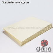 Papel Pólen para Encadernação 14,8x10,5 70g 100 folhas
