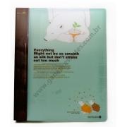Pasta Catálogo 40 folhas Modelo Urso Polar 50203-67489 Catalogo