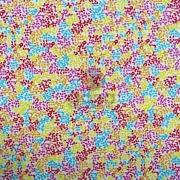 Tecido de Revestimento cartonagem patchwork - Básico Amarelo nº437 Mini Folhas Coloridas