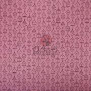 Tecido de Revestimento cartonagem patchwork - Básico Rosa nº429 com Casinhas passarinho