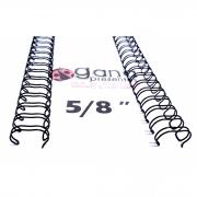 Wire-o Encadernação 5/8polegada = 1,6cm Cinch Passo 2:1 - Preto
