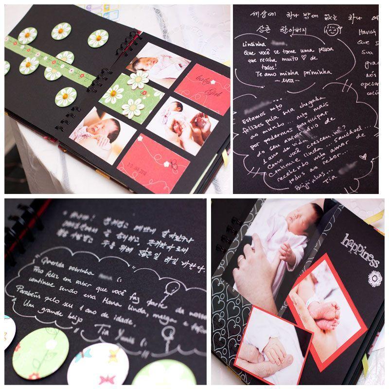 Álbum para Scrapbook e Livro de Assinaturas P Craft 24x21,5cm 20 folhas espiral 24x22,5cm