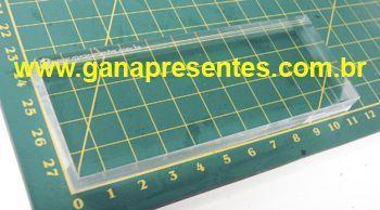 Base de Acrílico para carimbo 4cm X 11cm 5cm 10cm