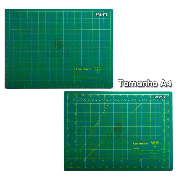 Base de corte 30x22cm para scrapbook cartonagem patchwork origami 22 x 30cm Lanmax - 943022