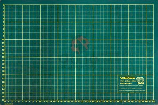 Base de corte 45x30cm para cartonagem scrapbook patchwork Westpress