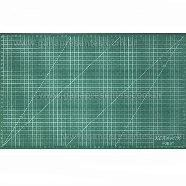 Base de corte 45x30cm para scrapbook cartonagem patchwork origami 45 x 30cm - 944530 KERAMIK
