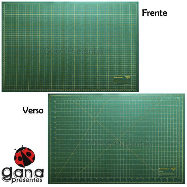 Base de corte 60x45cm para cartonagem scrapbook patchwork LANMAX