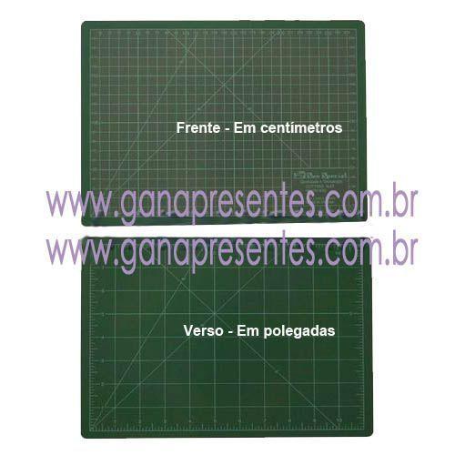 Base de corte 60x45cm para scrapbook cartonagem patchwork origami 60 x 45cm - 946045