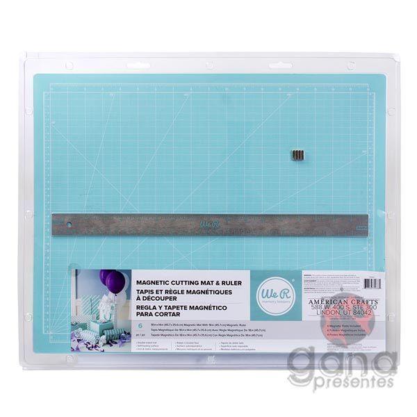 Base de corte magnética 40x50 Magnetic Cutting Set WE R